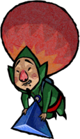 Tingle Artwork - Four Swords Adventures