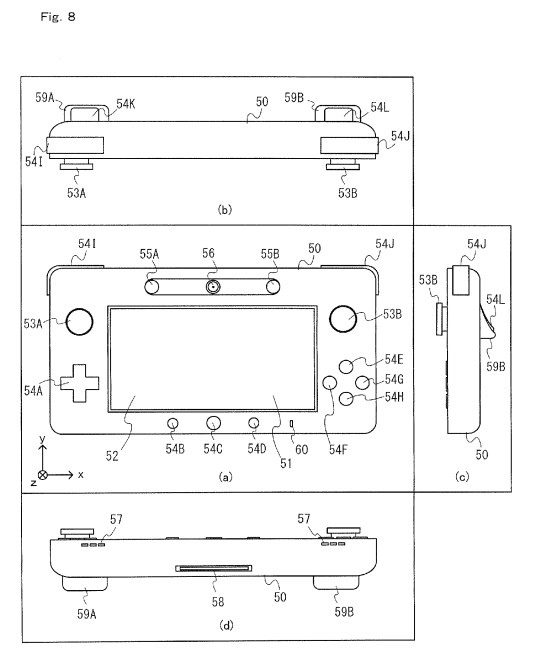 Image Wii U Controller Patentg Nintendo Fandom Powered By Wikia