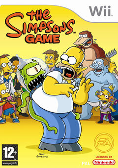 The Simpsons Game Wii (EU)