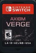 Axiom Verge GameCard