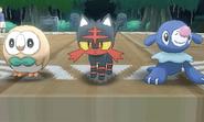 Elección de Pokémon inicial SL