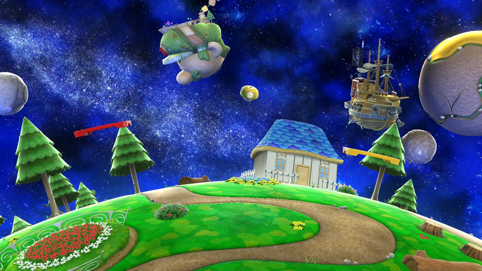 Mario Galaxy Super Smash Bros Nintendo Fandom