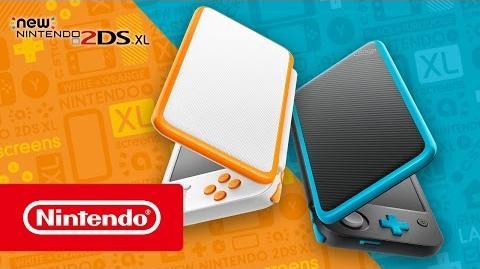 New Nintendo 2DS XL - Tráiler presentación