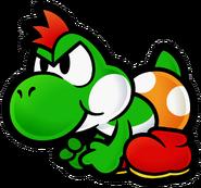 Yoshi (Paper Mario The Thousand-Year Door)