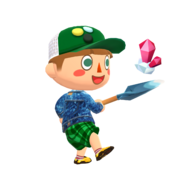 Animal Crossing - Pocket Camp - Character Artwork - Player - Boy 07