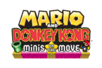 Mario and Donkey Kong - Minis on the Move Logo