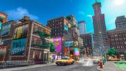 Super Mario Odyssey - Background Artwork - Metro Kingdom