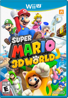 Super Mario 3D World Portada