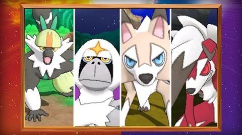 ¡Descubre los Pokémon exclusivos de Pokémon Sol y de Pokémon Luna!