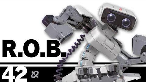 42- R.O.B. – Super Smash Bros. Ultimate