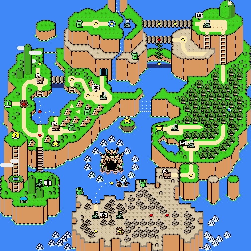 Super mario world nintendo fandom powered by wikia world map dinosaur land super mario world gumiabroncs Gallery