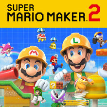 Release Icon - Super Mario Maker 2