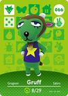 Animal Crossing Amiibo Card 066