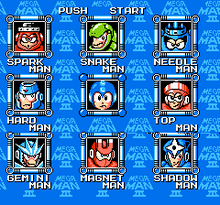 MM3 Stage Select