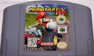 Mario Kart 64 Game Cartridge