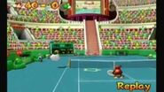 Mario Power Tennis GCN Mushroom Cup- Diddy Kong