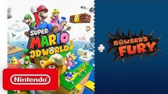 Super Mario 3D World Bowser's Fury - Announcement Trailer - Nintendo Switch