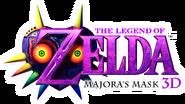 The Legend of Zelda Majora's Mask 3D Logo