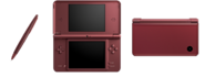 Burgundy Nintendo DSi XLs