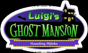 Nintendo Land - Luigi's Ghost Mansion logo