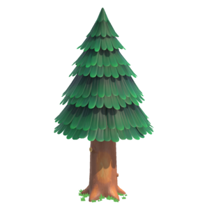 Animal Crossing New Horizons - Cedar tree