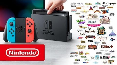 Presentación Nintendo Switch Nindies 28 02 2017