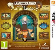 Professor Layton - Games - Arzan Legacy - Box Art