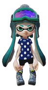 Splatoon - Polkadot-T Winter-look