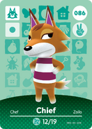 Amiibo - Card - Animal Crossing - Chief