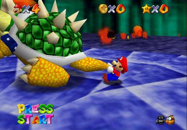 Image result for super mario  64 bowser tail