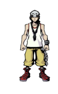 The World Ends with You Final Remix - Character Art - Beat 3