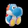 Amiibo - Blue Yarn Yoshi