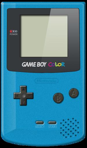 Game Boy Color consola