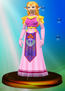 Princess Zelda Trophy Melee
