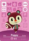 Animal Crossing Amiibo Card 052