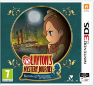 Layton's Mystery Journey Katrielle and the Millionaires' Conspiracy (EU)