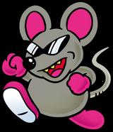 Mouser Art (Super Mario Bros. 2)