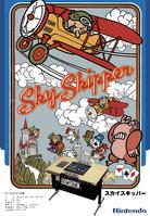 Sky Skipper arcade flyer Nintendo