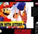 Mario's Early Years: Fun with Letters