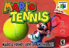 Mario Tennis - N64 (NA)