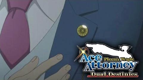 Phoenix Wright Ace Attorney - Dual Destinies - Animated teaser trailer