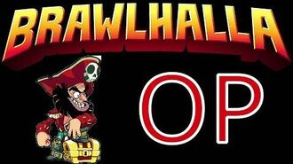 Let's play Brawlhalla with my OP boy PIRATE with funny moments D