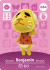 Animal Crossing Amiibo Card 084