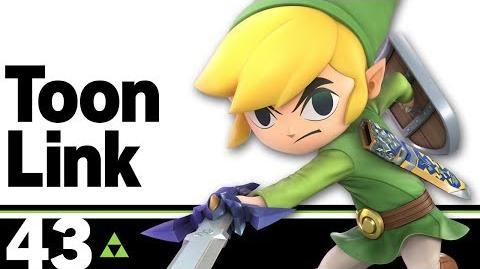 43- Toon Link – Super Smash Bros. Ultimate