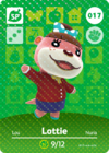 Animal Crossing Amiibo Card 017