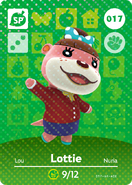 Amiibo - Card - Animal Crossing - Lottie