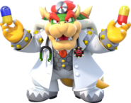Dr. Mario World - Dr. Bowser