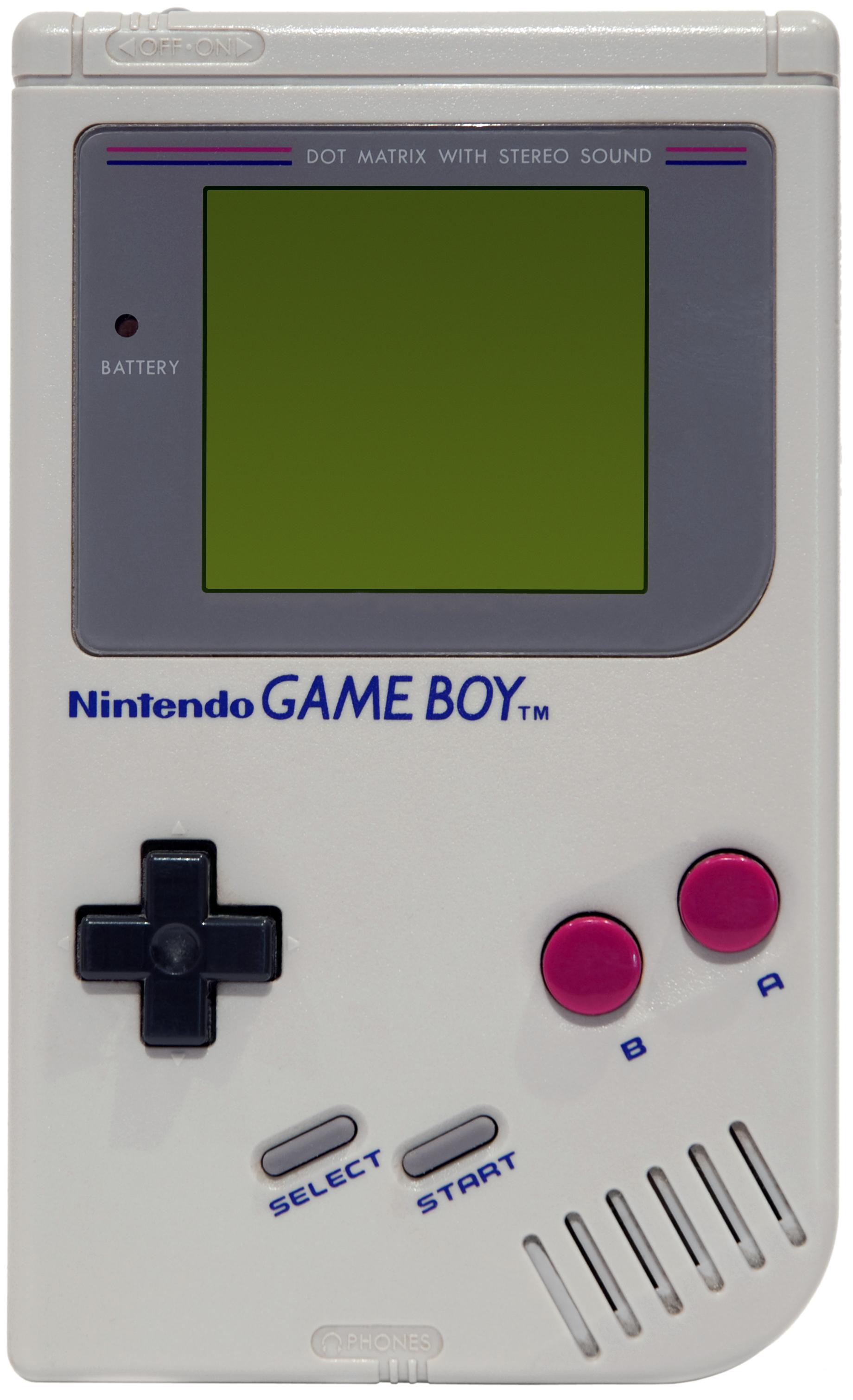 Pokemon games for gameboy color - Game Boy Grey Model