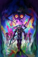 The Legend of Zelda Majora's Mask 3D - Artwork 05