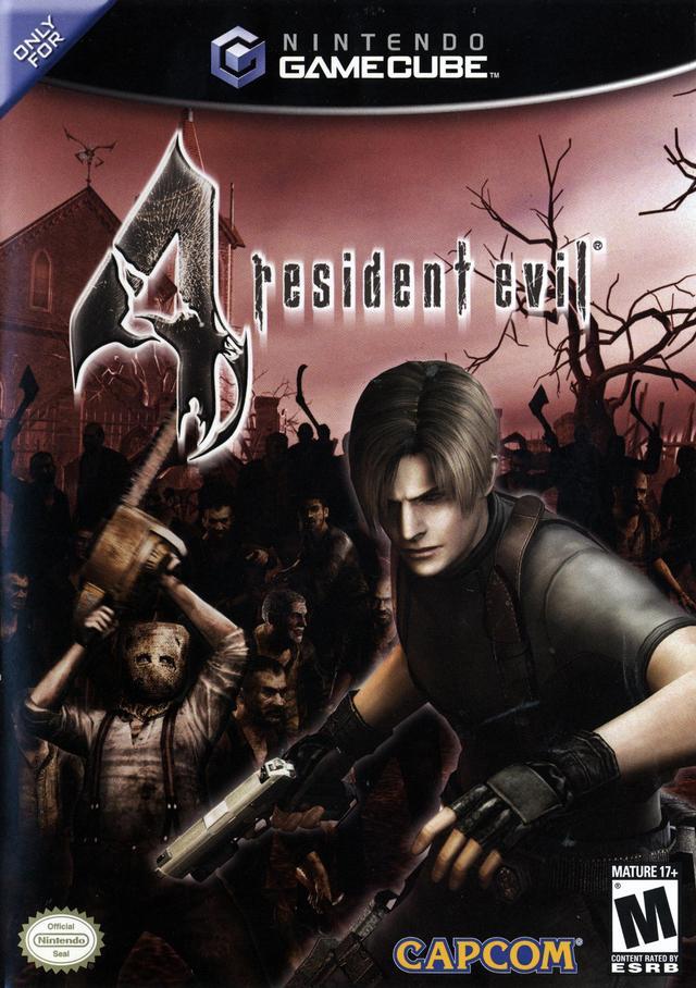Resultado de imagem para resident evil 4 american cover